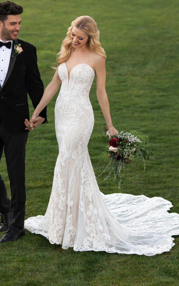 Walnut Creek CA Mermaid Wedding Dress