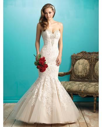 Allure Bridal 9266